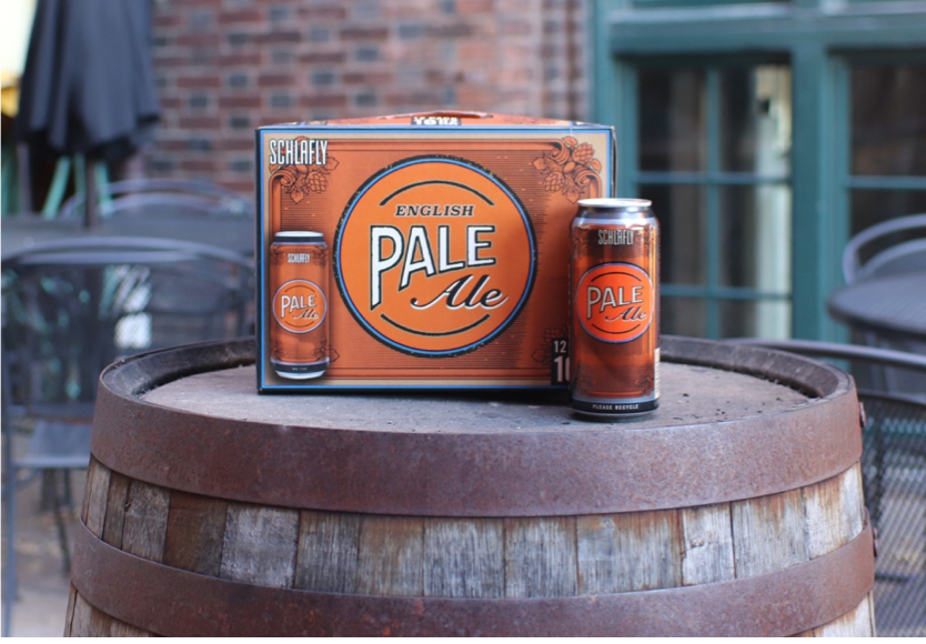 The Schlafly classic Pale Ale, now available in 16oz cans! -