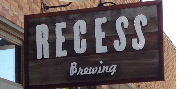 Recess Brewing in Edwardsville.